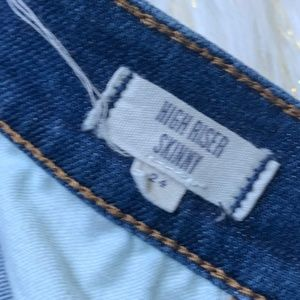 Madewell Jeans - Madewell Jeans Skinny Higher Riser 9' size 24